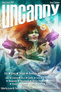 Uncanny issue cover